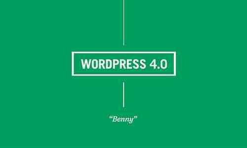 WordPress 4.0 is Announced
